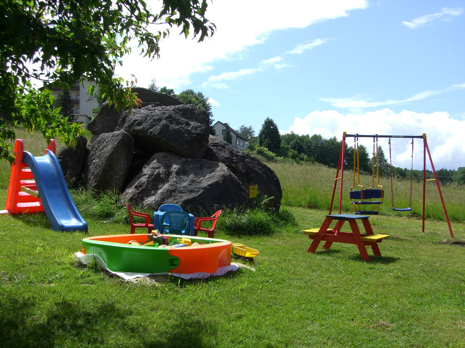 Spielplatz im Gasthof Hammerschmiede