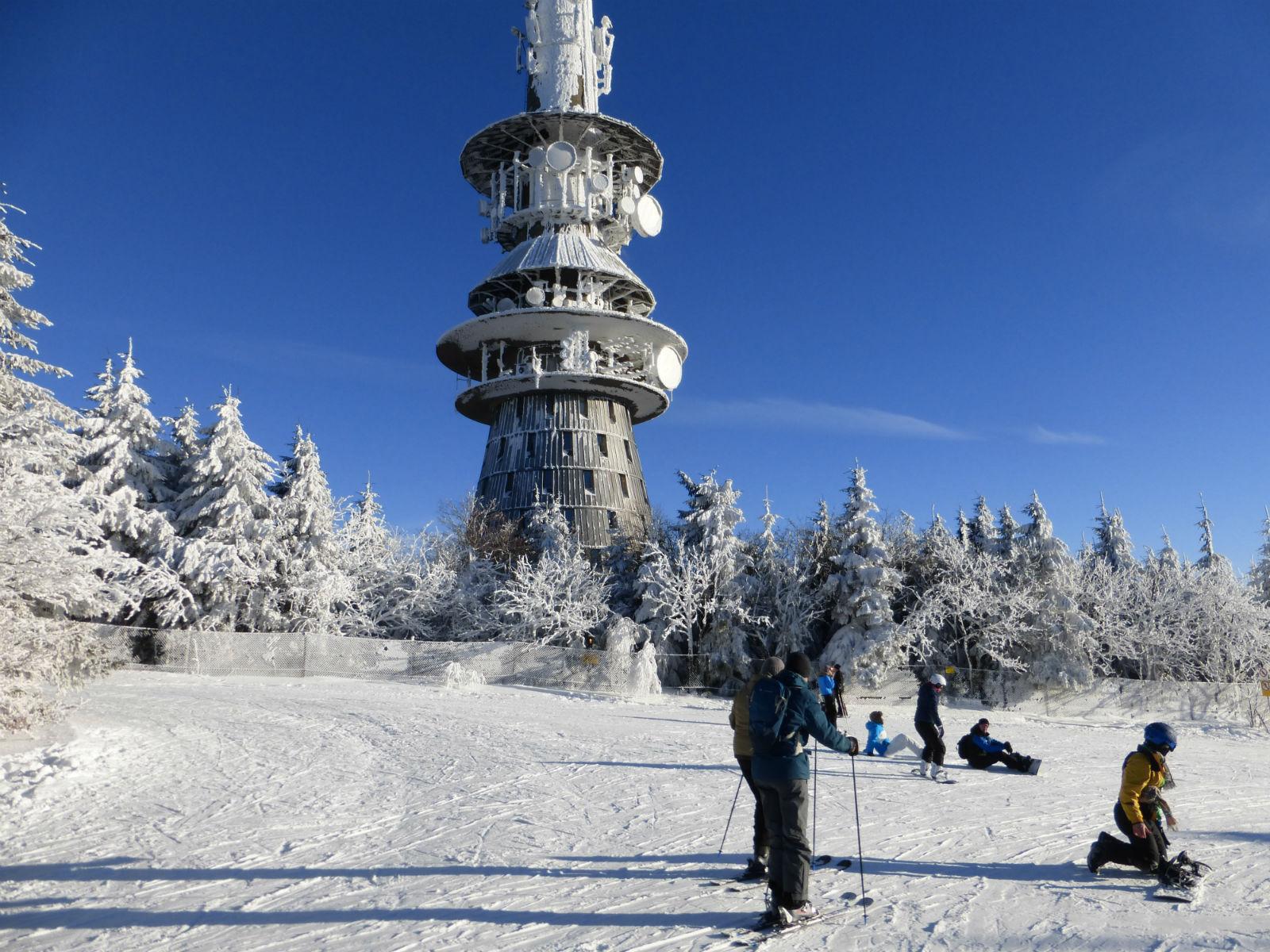 Fichtelgebirge-Skifahren-Ochsenkopf
