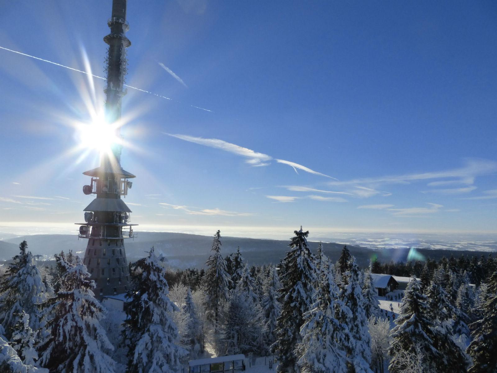Fichtelgebirge-Winter-Aussicht-Ochsenkopf