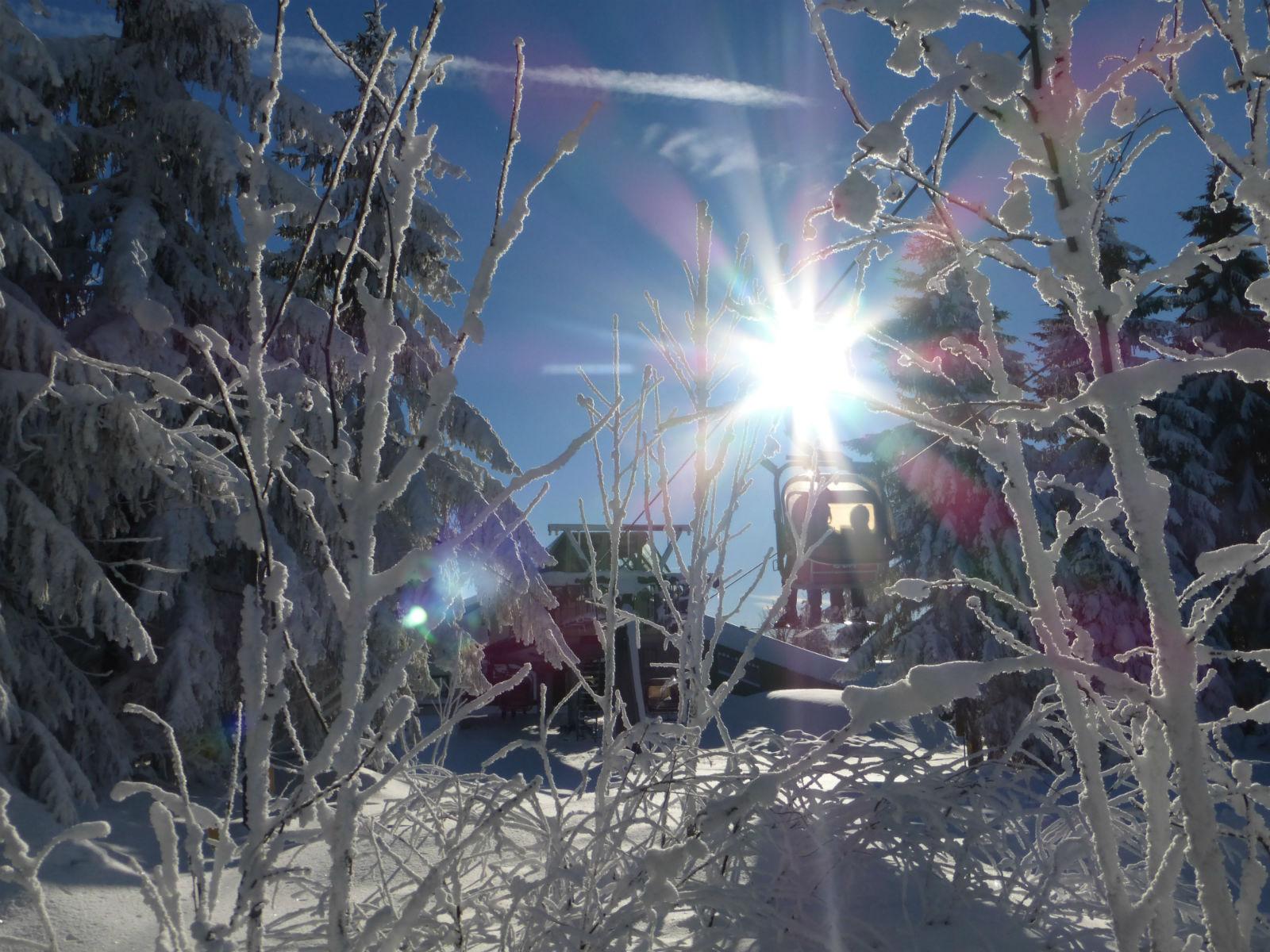 Fichtelgebirge-Winter-Schnee-Wintersport