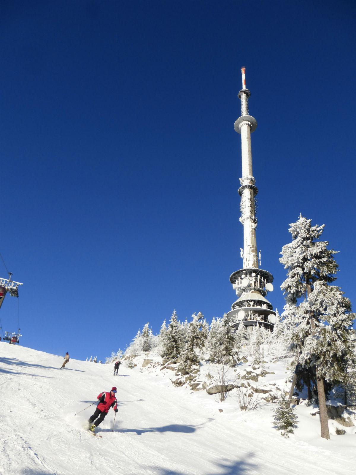 Fichtelgebirge-Wintersport-Skifahren-Abfahrt-Ochsenkopf