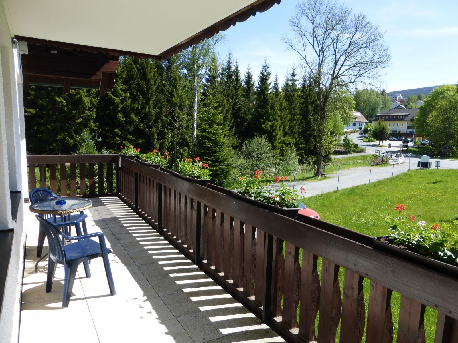 Hammerschmiede-Zimmer-Balkon