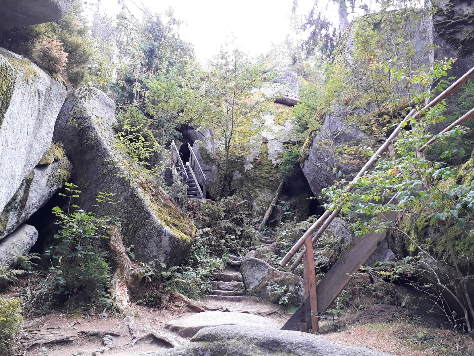 Felsenlabyrinth Luisenbrug