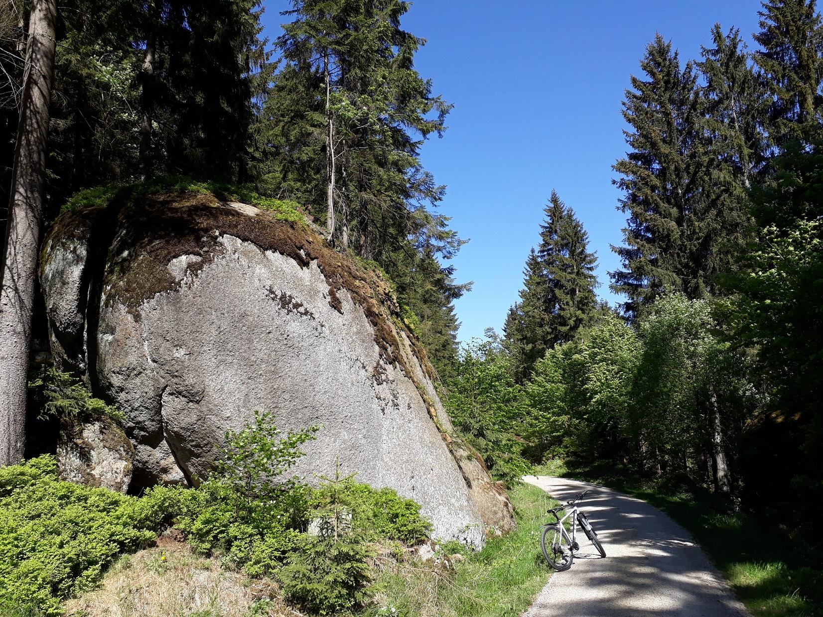 Felsenstraße Ochsenkopf