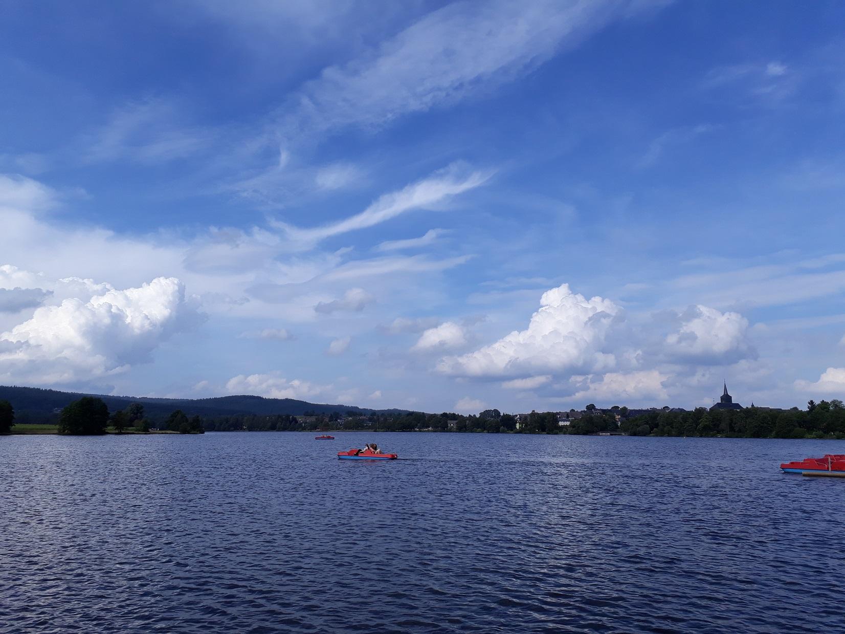 Weißenstätter See Boot